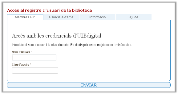 credencials uibdigital
